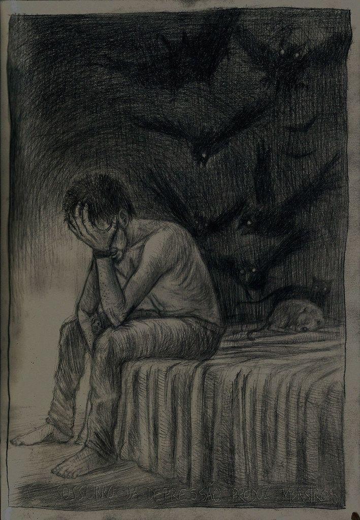 Tenho depressão e isso é triste