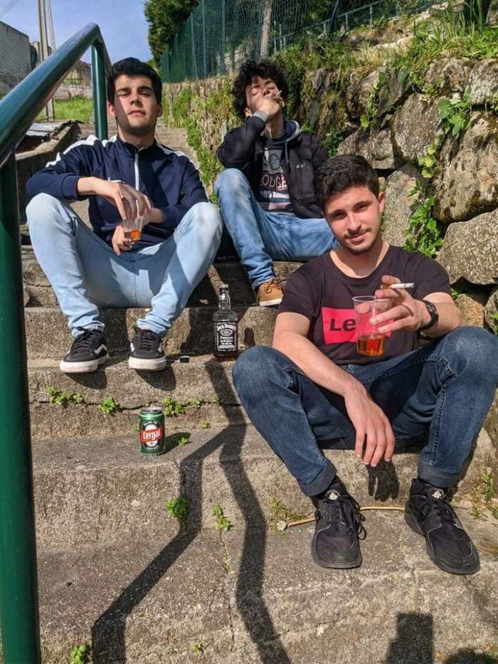 Três jovens alcoolizados avistados em vila real