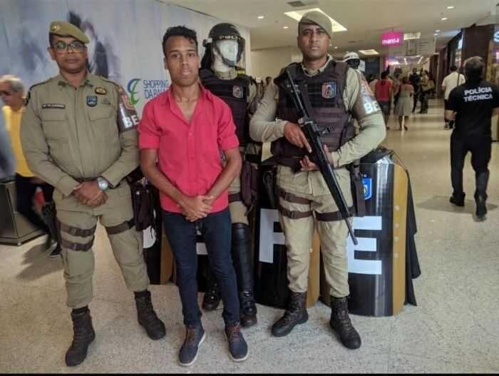 Jovem baiano Danzinho é preso após descumprir decreto e receber o Bahia no Aeroporto